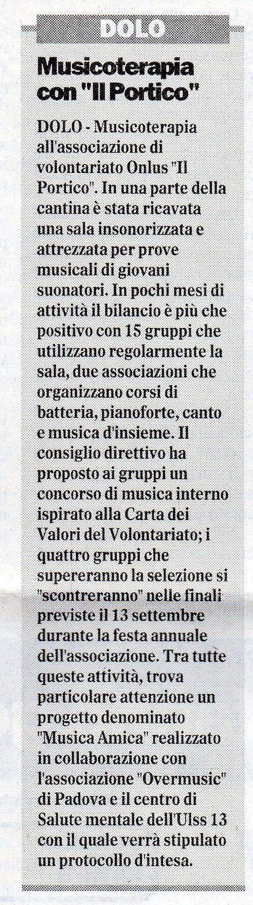 2003.06.16 Il Gazzettino di Venezia (p. 19)