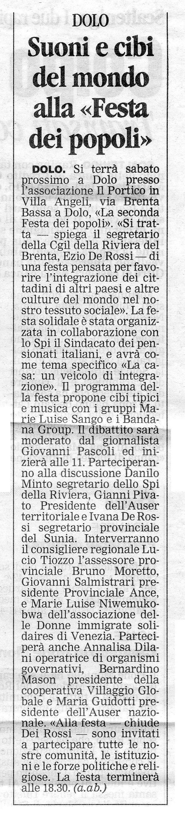 2003.09.19 La Nuova (p. 29)