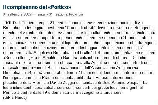2005.09.04 La Nuova