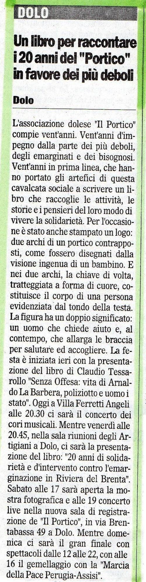 2005.09.08 Il Gazzettino di Venezia (p. 9)