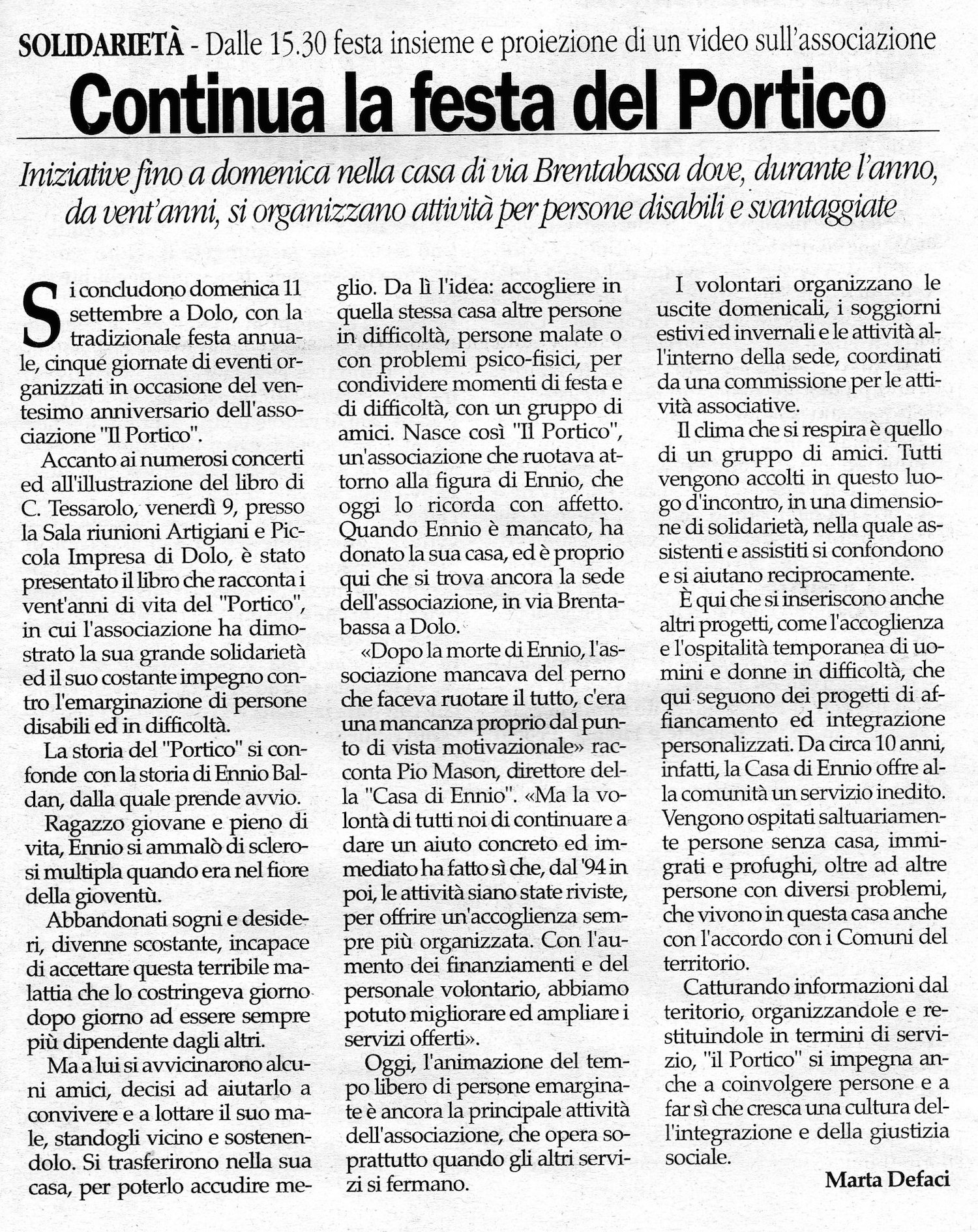 2005.09.10 Gente Veneta (p. 22)