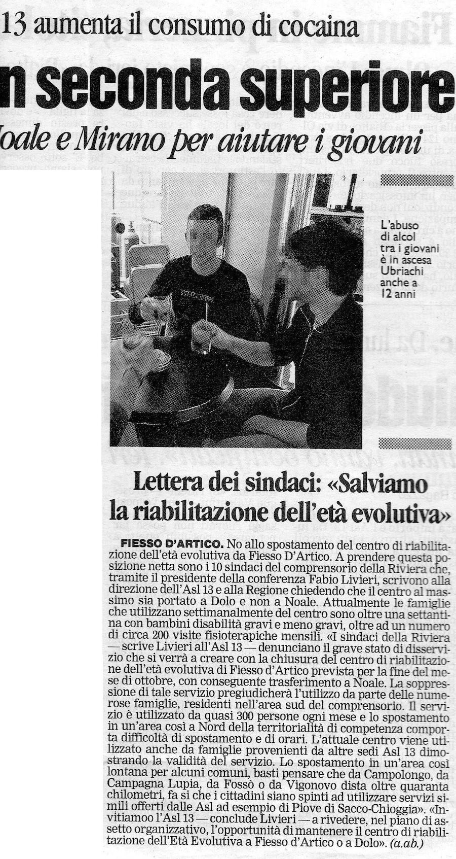 2007.10.27 La Nuova (p. 36) 2