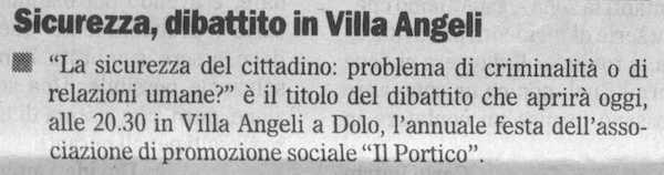 2009.09.11 Il Gazzettino (p. )