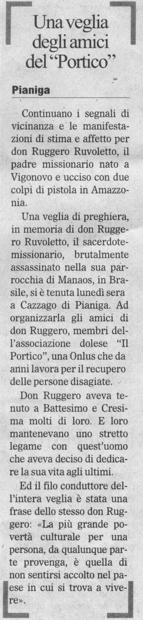 2009.09.23 Il Gazzettino (p. )