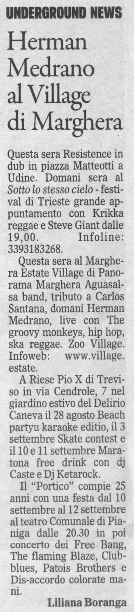 2010.08.28 Il Gazzettino di Venezia