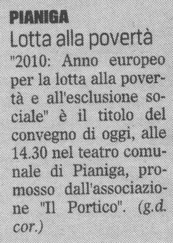 2010.09.03 Il Gazzettino di Venezia