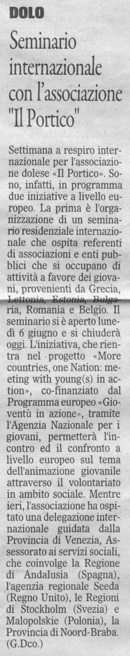 2011.06.10 Il Gazzettino di Venezia