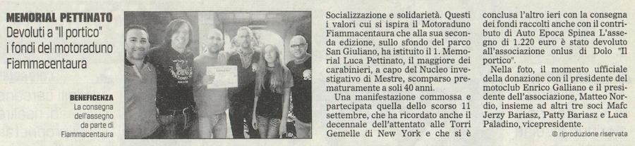 2011.09.21 Il Gazzettino di Venezia