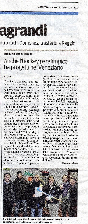 2013.01.22 la Nuova (p. 42)