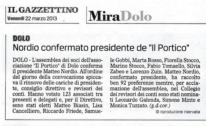 2013.03.22 Il Gazzettino di Venezia (p. 17)