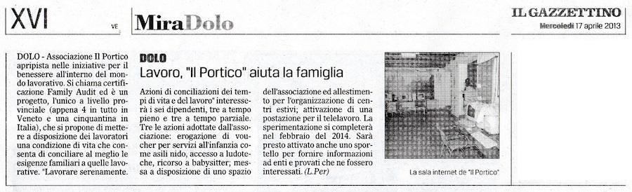 2013.04.17 Il Gazzettino (p. 16)
