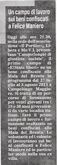 2013.05.15 Il Gazzettino di Venezia (p. 15)