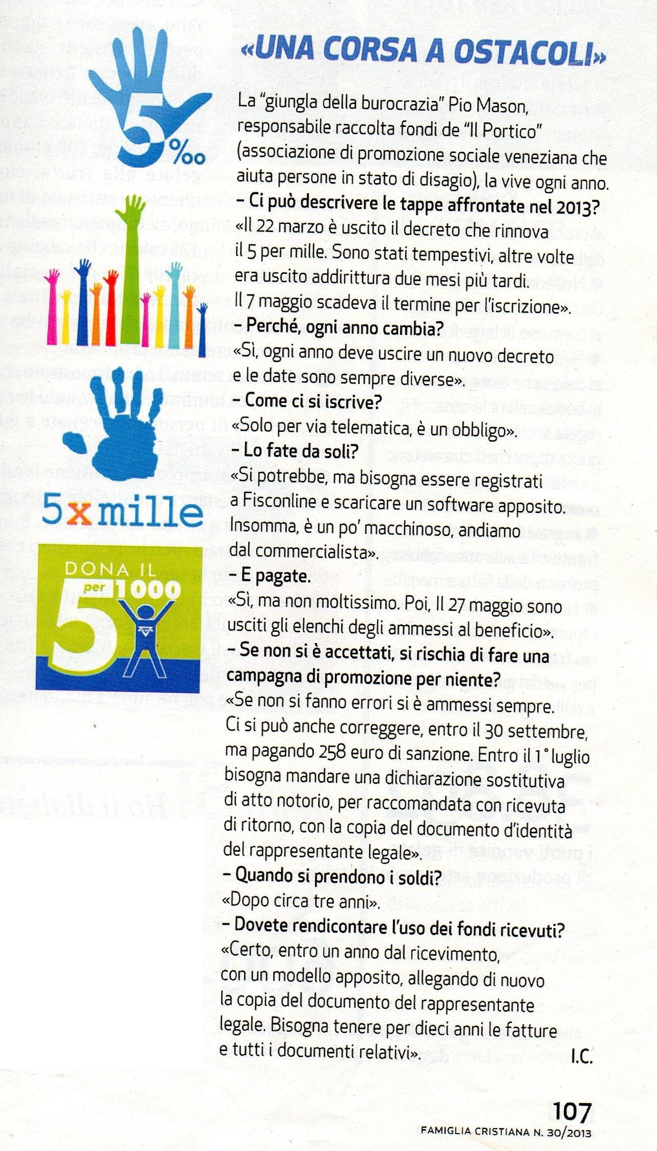 2013.07.28 Famiglia Cristiana (p. 107)