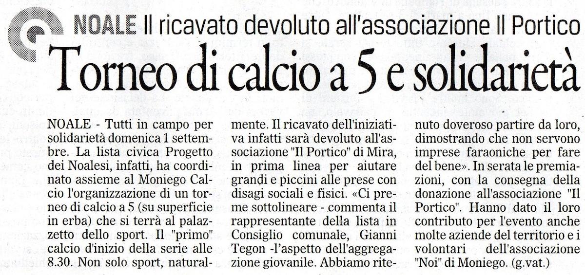 2013.08.29 Il Gazzettino di Venezia (p. 18)