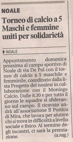2013.08.30 la Nuova di Venezia e Mestre