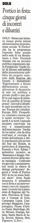 2013.09.03 Il Gazzettino di Venezia (p. 18)
