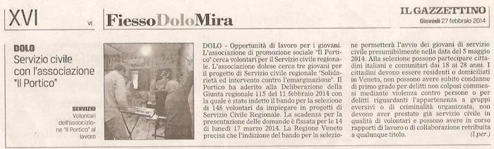 2014.02.27 Il Gazzettino di Venezia (p. 16)