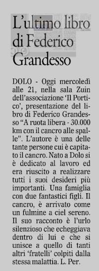 2014.07.02 Il Gazzettino di Venezia (p. 27)