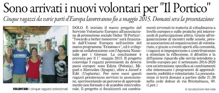 2014.08.12 Il Gazzettino di Venezia (p. 18)