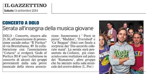2014.09.13 Il Gazzettino di Venezia (p. 29)