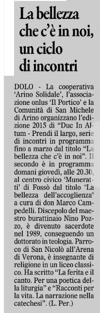 2015.01.28 Il Gazzettino di Venezia (p. 27)