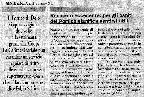 2015.03.21 Gente Veneta (p. 23) DETTAGLIO