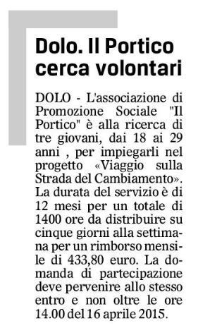 2015.03.24 Il Gazzettino di Venezia (p. 16)