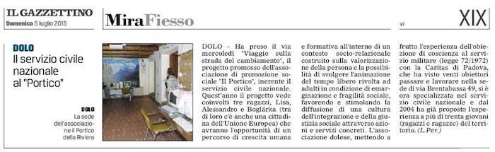 2015.07.05 Il Gazzettino di Venezia (p. 19)