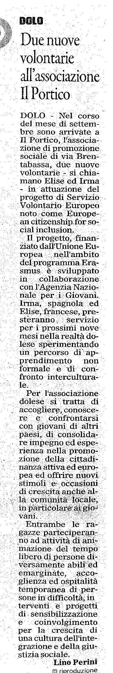 2015.10.05 Il Gazzettino di Venezia (p. 10)