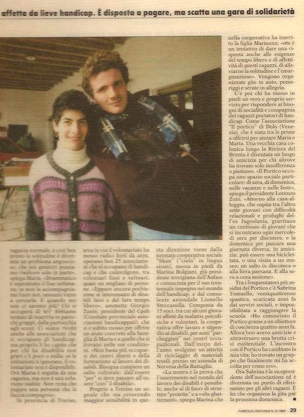 1996 giugno Famiglia Cristiana (p. 29)
