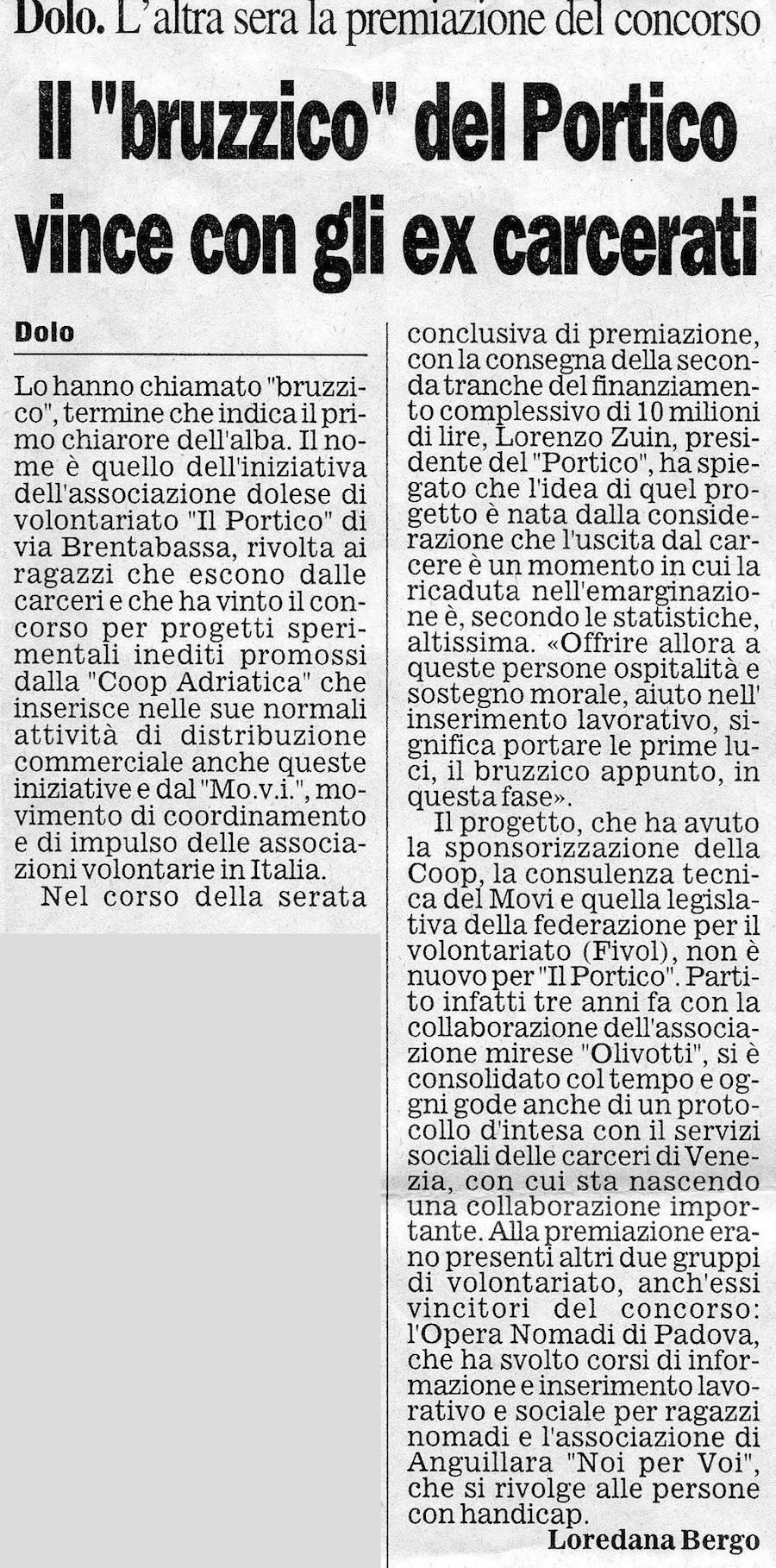 1997.11.22 Il Gazzettino di Venezia (p. 27)