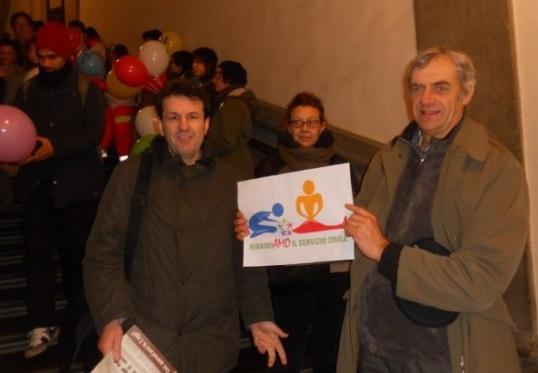 Anche Gozzo per RianimiAMO il servizio civile (15.12.2012)