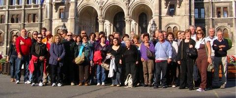Foto di gruppo del viaggio a Budapest 2010