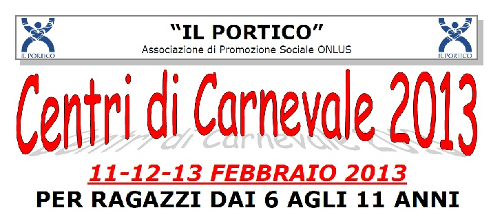 Centri di Carnevale 2013