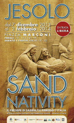 Jesolo Sand Nativity 2013.2014