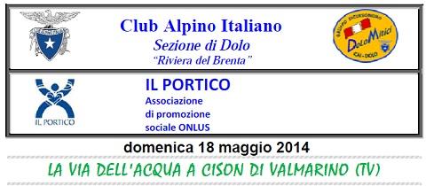 18.05.2014 Cison (Il Portico e CAI)