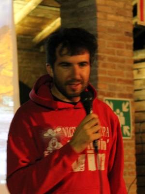 Claudio Costantini, volontario de Il Portico e presidente di Catarsi