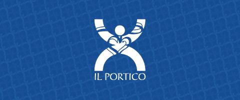 Il logo dell'Associazione Il Portico Onlus