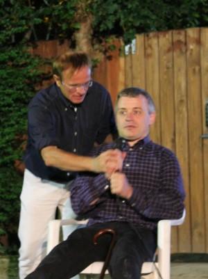 Da sinistra Marino Stocco e Michele Ceoldo